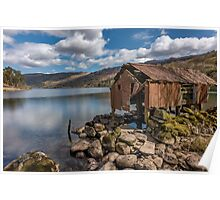 Rusty Boathouse Poster