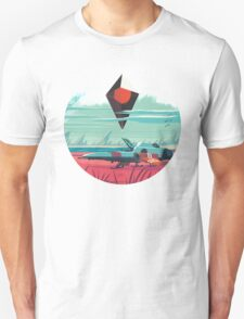 No Man's Sky Art Work Design Unisex T-Shirt