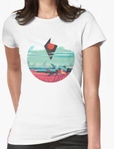 No Man's Sky Art Work Design Womens Fitted T-Shirt