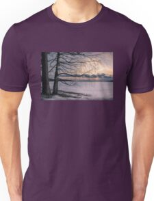 Spring evening at the lake Unisex T-Shirt