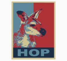 HOP - Yes We Kan-garoo Kids Tee