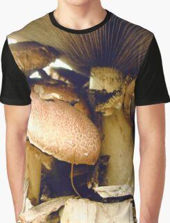 Under Mushroom Graphic T-Shirt