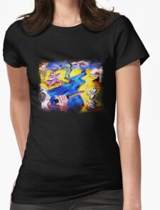 Dreamscape  Womens Fitted T-Shirt