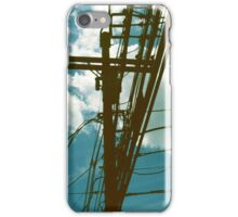 Clouds and Transformer iPhone Case/Skin
