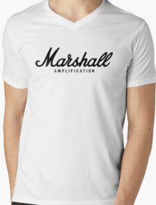 Marshall Mens V-Neck T-Shirt