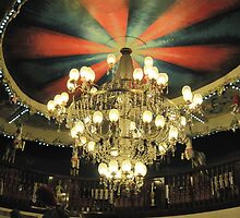 La Rotonde - the chandelier by Roberta Angiolani