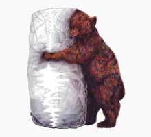 BEAR-rito Bear Hugs One Piece - Long Sleeve