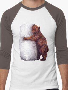 BEAR-rito Bear Hugs Men's Baseball ¾ T-Shirt