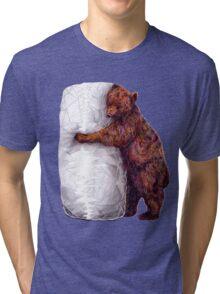 BEAR-rito Bear Hugs Tri-blend T-Shirt