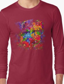 Trippy, psychedelic, arty Long Sleeve T-Shirt