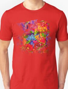 Trippy, psychedelic, arty Unisex T-Shirt