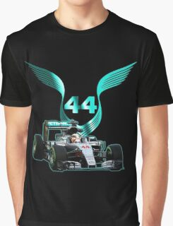 Lewis Hamilton F1 with LH 2016 44 car Graphic T-Shirt