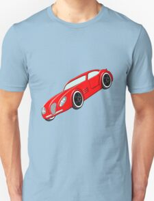 A Butch Red Muscle Car Unisex T-Shirt
