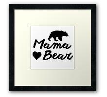 Mama Bear Framed Print