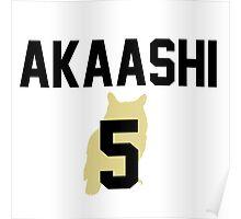Haikyuu!! Jersey Akaashi Number 5 (Fukurodani) Poster