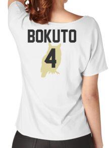 Haikyuu!! Jersey Bokuto Number 4 (Fukurodani) Women's Relaxed Fit T-Shirt