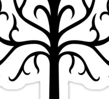 Lord of the Rings - Tree of Gondor (Black) Sticker