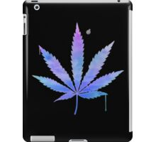 Water Colour Marijuana Leaf iPad Case/Skin