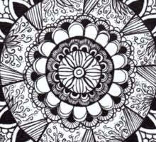 Lace Mandala Tangle Sticker