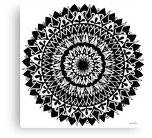 Gravity Mandala Canvas Print