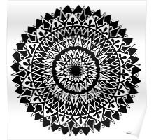 Gravity Mandala Poster