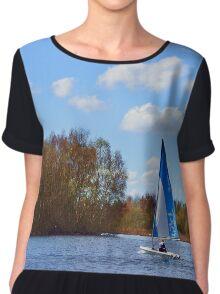 Sailing #2 Chiffon Top