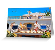 LIVING LA VIDA IN MEXICO Greeting Card