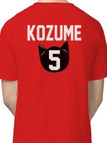 Haikyuu!! Jersey Kenma Number 5 (Nekoma) Classic T-Shirt