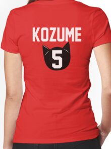 Haikyuu!! Jersey Kenma Number 5 (Nekoma) Women's Fitted V-Neck T-Shirt