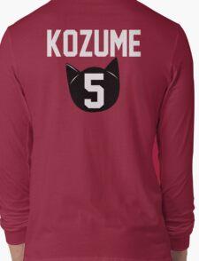 Haikyuu!! Jersey Kenma Number 5 (Nekoma) Long Sleeve T-Shirt