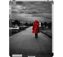 Red Coat Child iPad Case/Skin