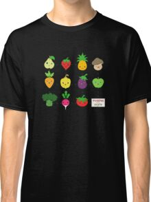 Cute Veggies Foods Classic T-Shirt