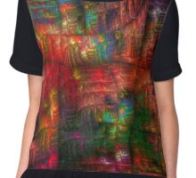 The Strong Fabric Of Dreams Chiffon Top