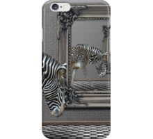 Zebra black or white stripes? iPhone Case/Skin