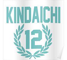 Haikyuu!! Jersey Kindaichi Number 12 (Aoba) Poster