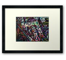 Surreal wall Framed Print