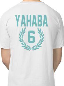 Haikyuu!! Jersey Yahaba Number 6 (Aoba) Classic T-Shirt
