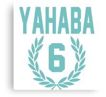 Haikyuu!! Jersey Yahaba Number 6 (Aoba) Canvas Print