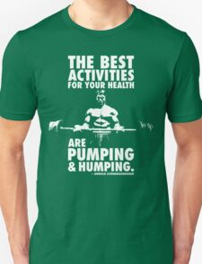 Pumping and Humping Unisex T-Shirt