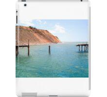 Storm damaged jetty iPad Case/Skin