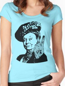 If you may Your Majesty Women's Fitted Scoop T-Shirt