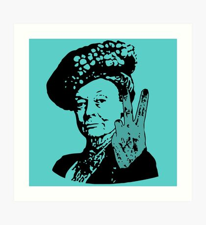 If you may Your Majesty Art Print