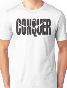 CONQUER (Arnold Iconic Black) Unisex T-Shirt
