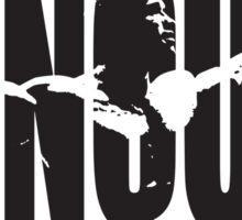 CONQUER (Arnold Iconic Black) Sticker