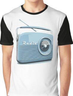 Retro radio Graphic T-Shirt