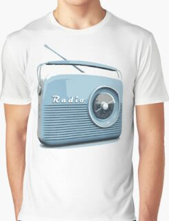 Retro radio Graphic T-Shirt