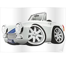 Austin Healey Sprite mark 3 - personalized for Chris Poster