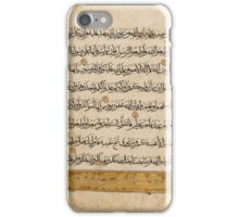 Abu'l-Khayr Muhammad al-Farsi, Khulasat al-hay'ah ('The Essence of Astronomy'), India, Mughal, 16th century iPhone Case/Skin