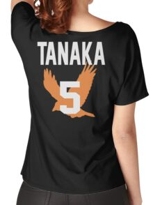 Haikyuu!! Jersey Tanaka Number 5 (Karasuno) Women's Relaxed Fit T-Shirt