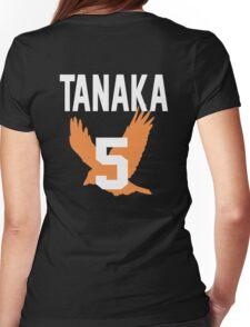Haikyuu!! Jersey Tanaka Number 5 (Karasuno) Womens Fitted T-Shirt